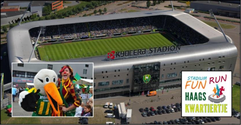 Stadium FUN Run het nieuwe hardloop peer 2 peer event van Nederland